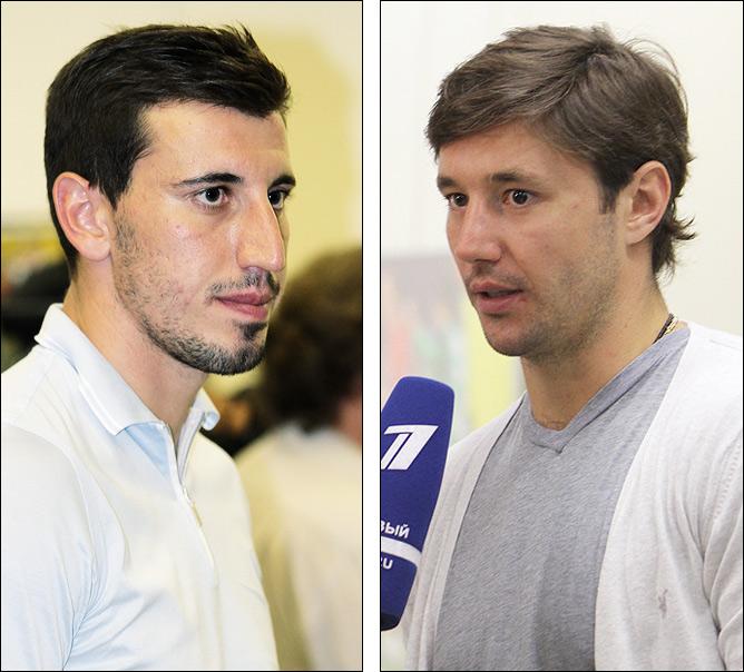 Сослан Джанаев и Илья Ковальчук