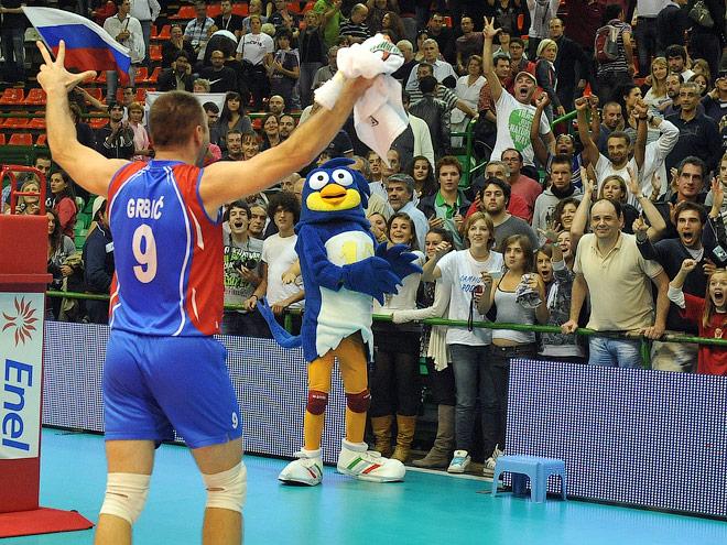 Один из главных героев встречи — Никола Грбич