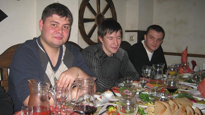 Ранние посиделки «Чемпионата»: Александр Служаков, Михаил Тяпков, Алексей Агеев