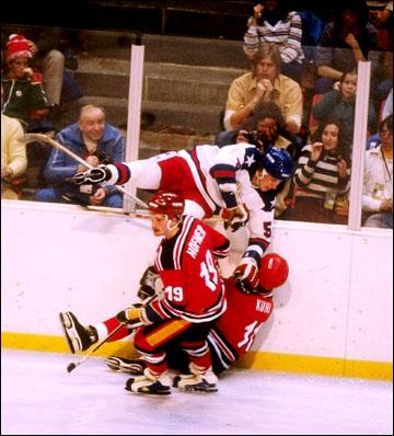 Подготовка сборной США к Олимпиаде-1980. Контрольный матч со сборной ФРГ в Нью-Йорке