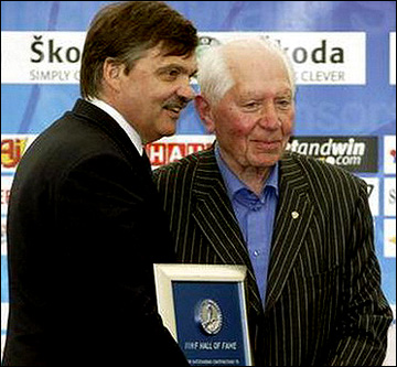 Рене Фазель и Анатолий Хорозов. 2005 год