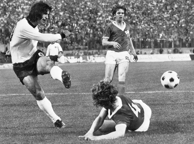 Герд Мюллер стал лучшим бомбардиром чемпионата мира-1970