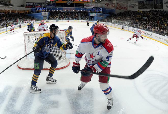 «Атлант» против ЦСКА