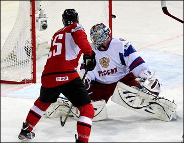 13 мая 2013 года. Хельсинки. Чемпионат мира. Групповой этап. Австрия — Россия — 4:8