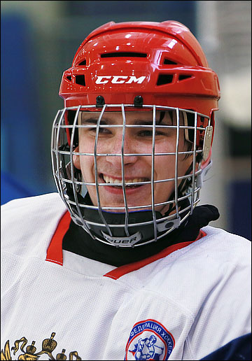 Павел Бучневич в составе молодёжной сборной России