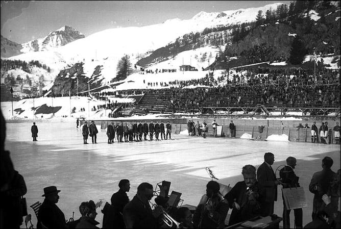 Хоккей. История чемпионатов мира. ЧМ-1931-1940. Фото 01.