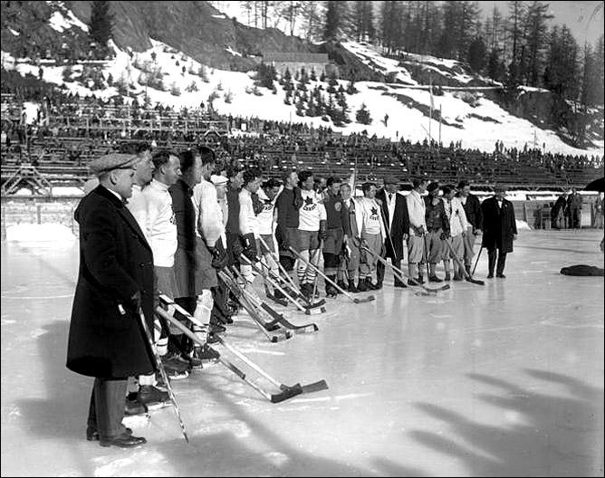 Хоккей. История чемпионатов мира. ЧМ-1931-1940. Фото 06.