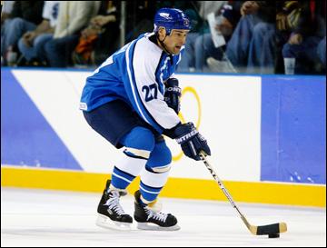 Теппо Нумминен в сборной Финляндии, 2002 год