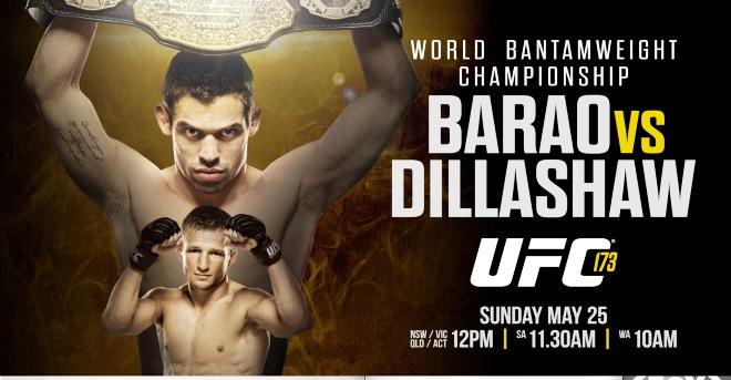 Постер к турниру UFC 173