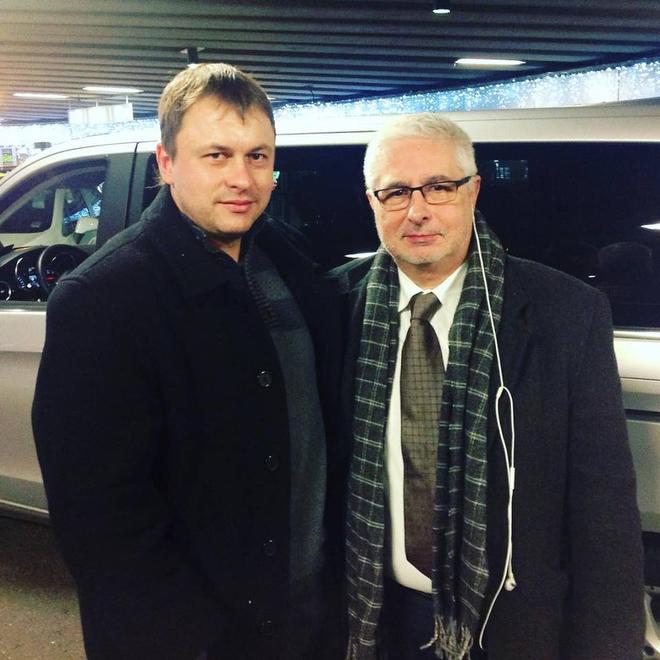 Олег Лысенко с внебрачным сыном Пушкаша