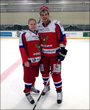 Екатерина Смоленцева и Алексей Яшин