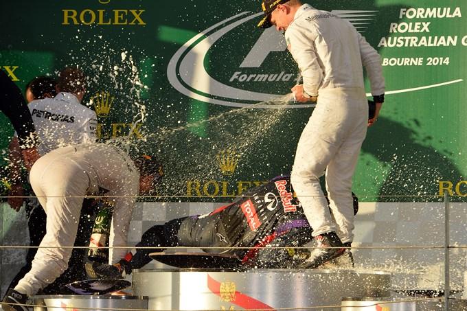 Подиум Гран-при Австралии