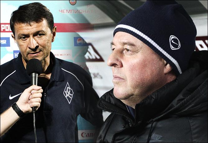 Юрий Газзаев и Александр Тарханов