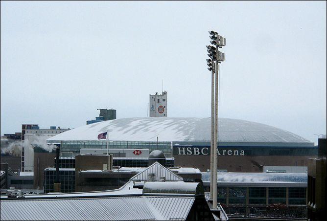 Баффало. HSBC-Арена, на которой пройдут решающие матчи чемпионата.