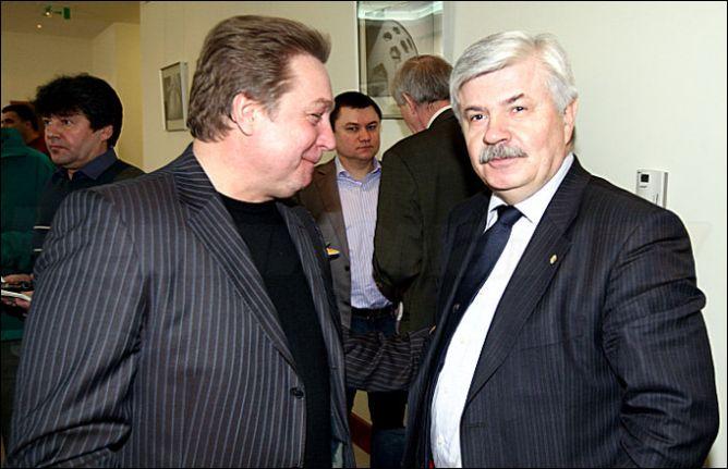 Закадычные друзья Анатолий Бардин и Геннадий Величкин. Закадычные потому, что целое десятилетие пытались ухватить друг друга за кадык.