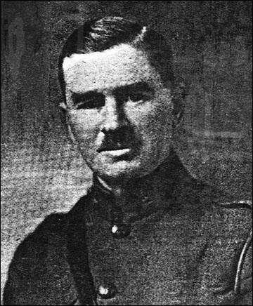 Лейтенант 43 полка инфантерии Южных провинций Канады Фрэнк Макги