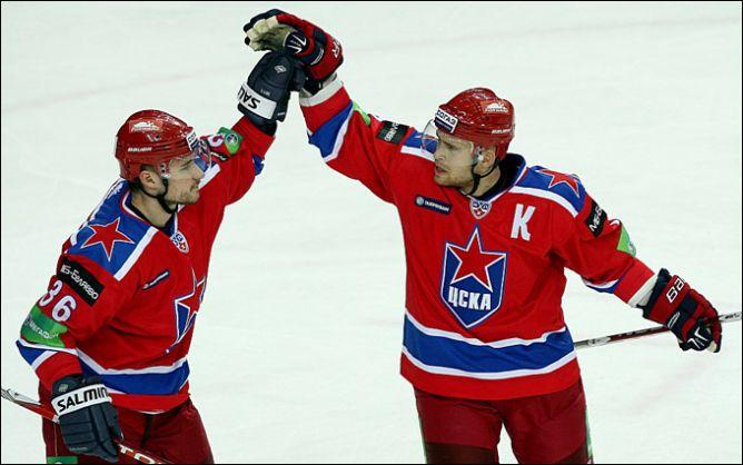 Николай Пронин (справа) и Яков Рылов.
