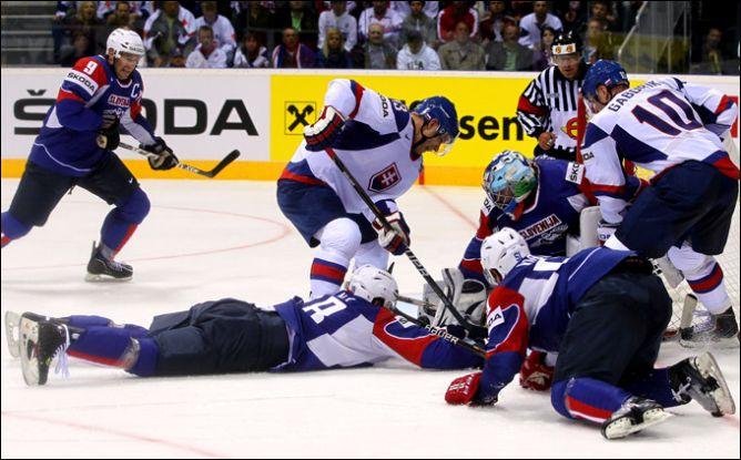 29 апреля 2011 года. Братислава. Чемпионат мира. Словакия — Словения — 3:1