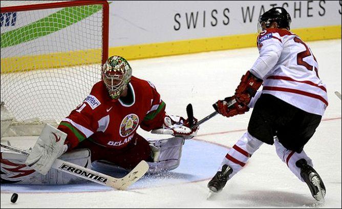 29 апреля 2011 года. Кошице. Чемпионат мира. Белоруссия — Канада — 1:4