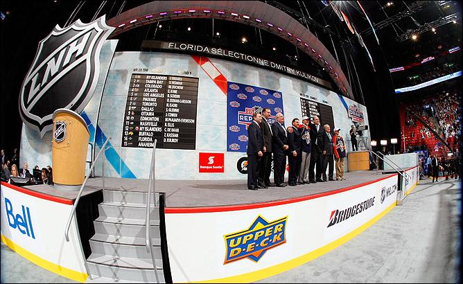 """Драфт НХЛ-2009. Под общим номером 14 """"Флорида"""" задрафтовала Дмитрия Куликова"""