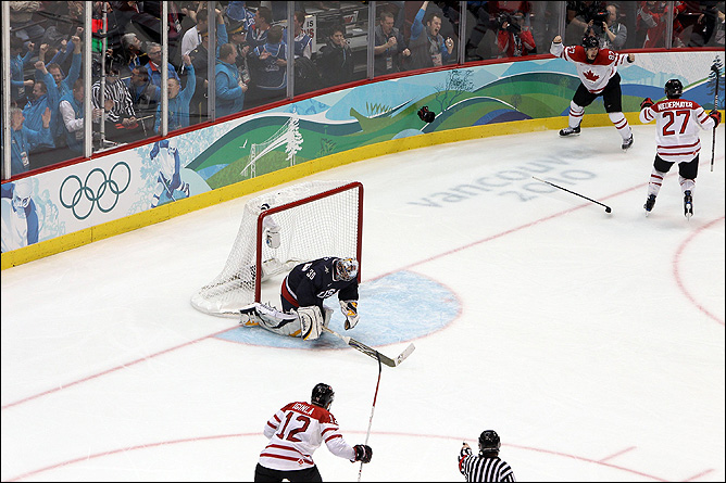 Сидни Кросби и победный гол на Олимпиаде
