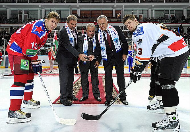 30 августа 2011 года. Омск. Кубок мира. Торжественное открытие турнира