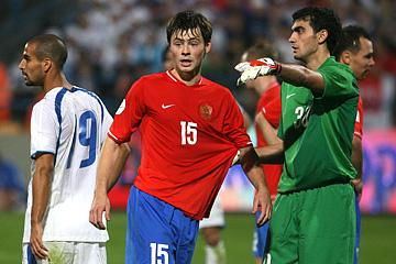 17 ноября 2007 года. Отборочный матч ЧЕ-2008. Израиль — Россия — 2:1