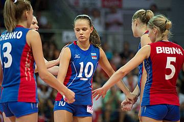 В 2012 году женская молодёжная сборная России заняла четвёртое место на чемпионате Европы
