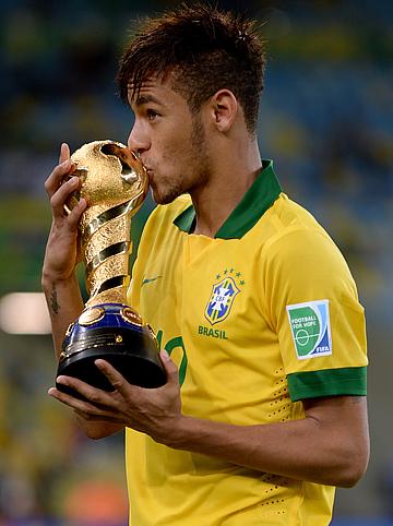 Бразилец Неймар признан лучшим игроком финала Кубка конфедераций