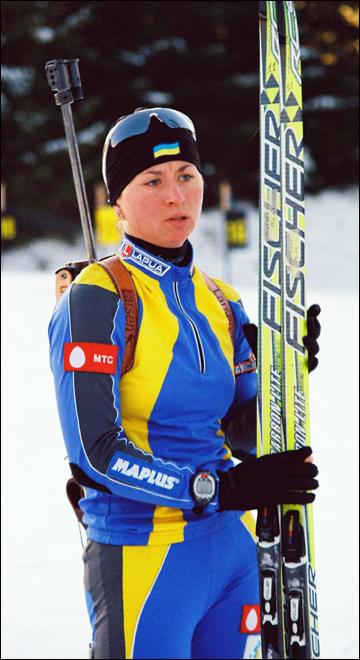 Занятия спортом Вита Семеренко начинала с лыжных гонок