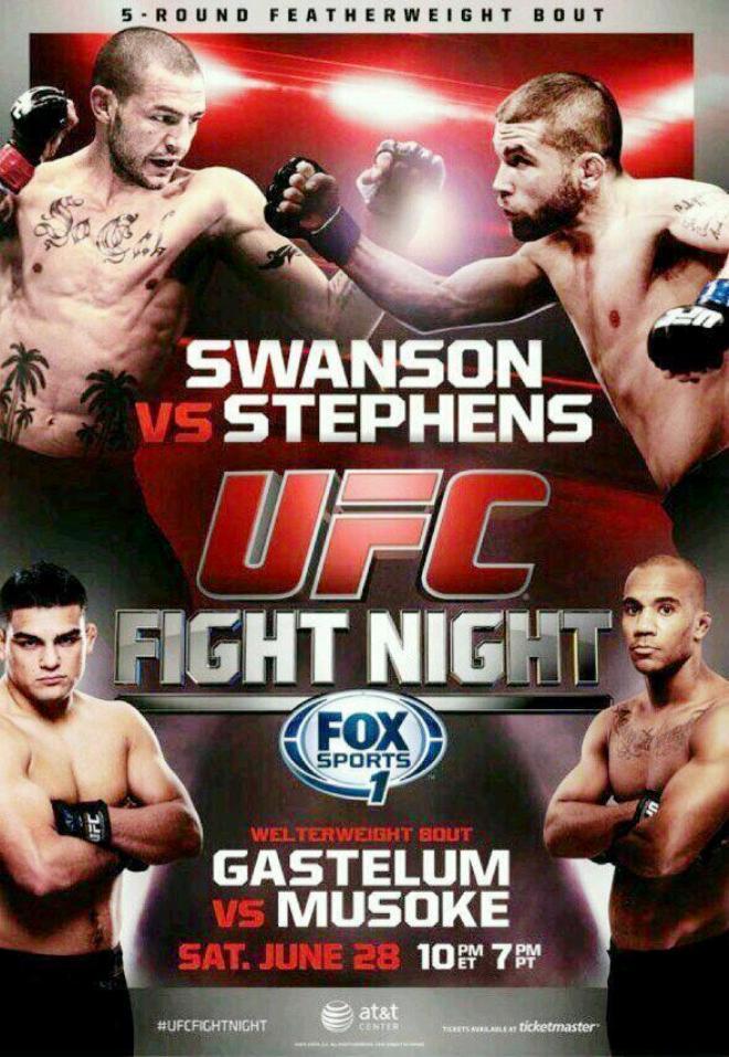 Постер к турниру UFC Fight Night 44