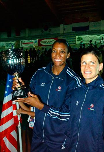 Легенды американской сборной – Даниэль Скотт и Стейси Сикора