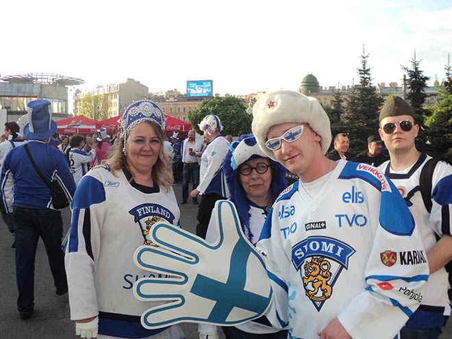 Финские фанаты