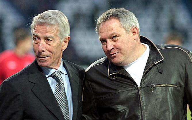 Валерий Непомнящий и Юрий Красножан.