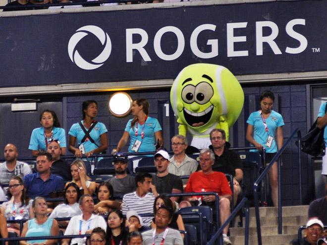 Трибуны на турнире Rogers Cup