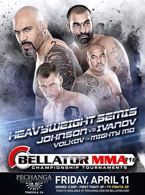 Постер к турниру Bellator 116