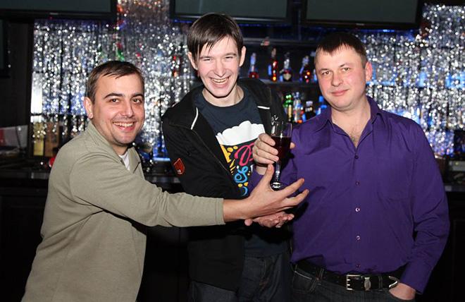 Денис Целых, Михаил Тяпков, Олег Лысенко
