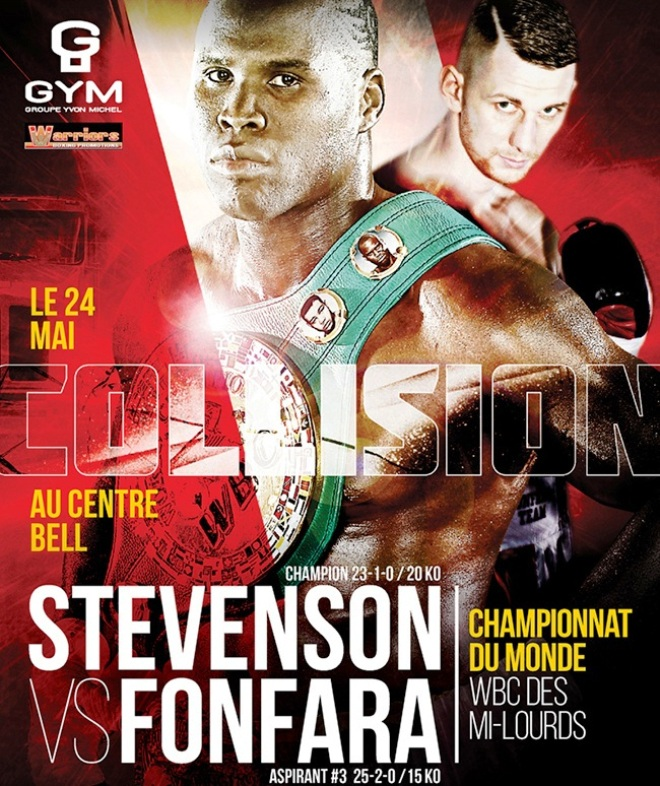 Постер к бою Стивенсон — Фонфара