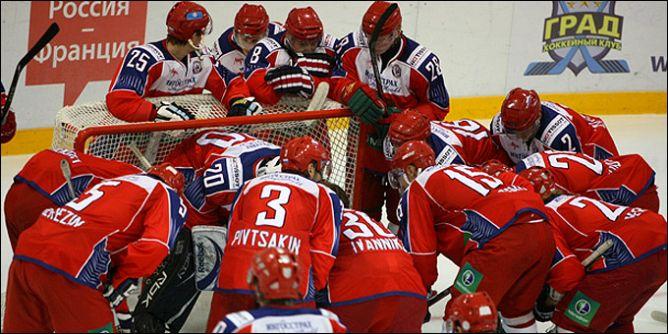 Молодежная (до 20 лет) сборная России.