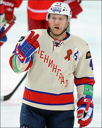 Патрик Торесен — один из трёх норвежских олимпийцев в КХЛ