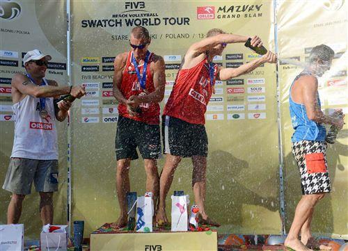 """На польском этапе Мирового тура Плавинш и Смединш впервые выиграли """"золото"""""""