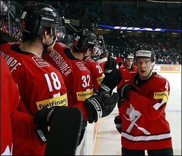Сборная Швейцарии – первый соперник россиян на молодежном чемпионате мира
