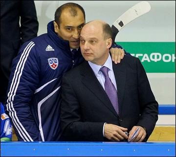 Нурлан Оразбаев и Андрей Шаянов