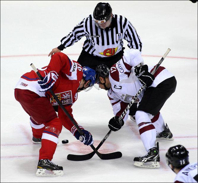 30 апреля 2011 года. Братислава. Чемпионат мира. Чехия — Латвия — 4:2