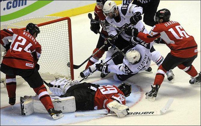 30 апреля 2011 года. Кошице. Чемпионат мира. США — Австрия — 5:1