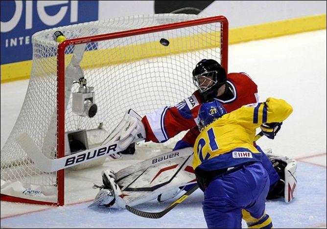 30 апреля 2011 года. Кошице. Чемпионат мира. Норвегия — Швеция — 5:4