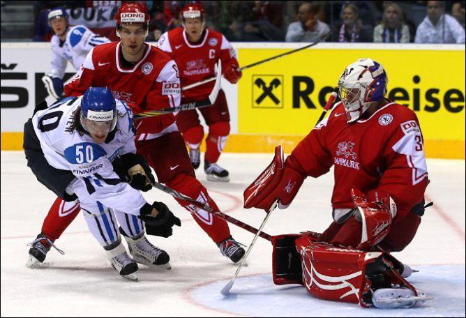 30 апреля 2011 года. Братислава. Чемпионат мира. Финляндия — Дания — 5:1