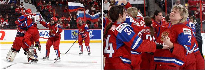 Женская сборная России — бронзовый призёр чемпионата мира по хоккею