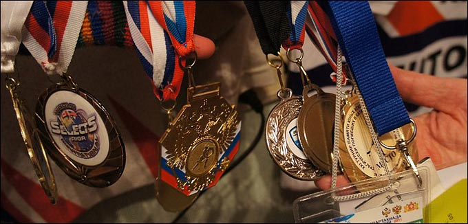 И снова трофеи