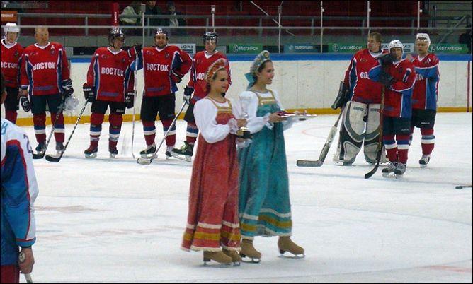 Закрытие хоккейного сезона в Москве